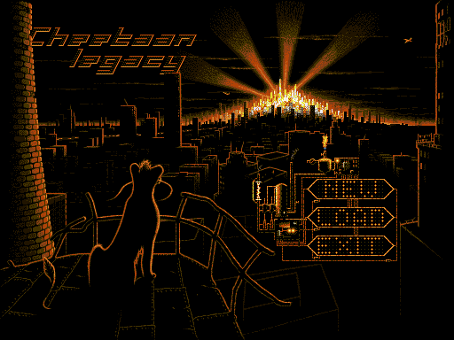 Cheetaan Legacy title screen